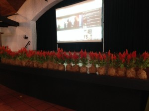 Plantas de celosía decoradas de forma artesanal para decoración de tarima.  4.800 colones por planta